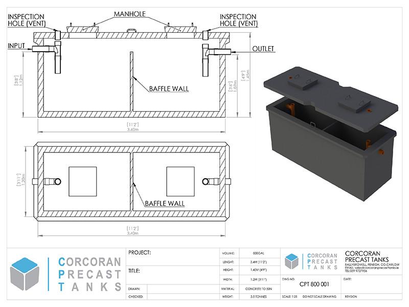 Septic Tank Drawing Pdf | gdlawct com